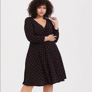 Torrid heart dress size 0